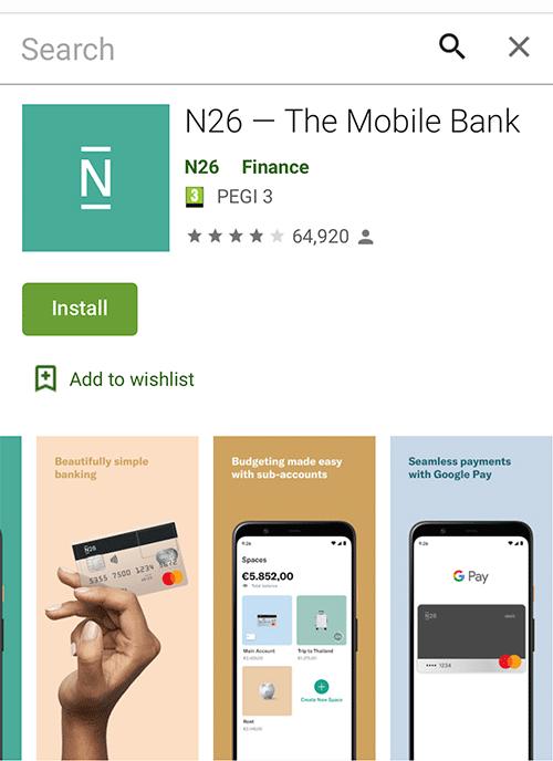 N26 - Google Play